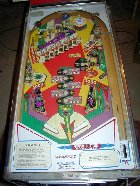 Click for playfield photo
